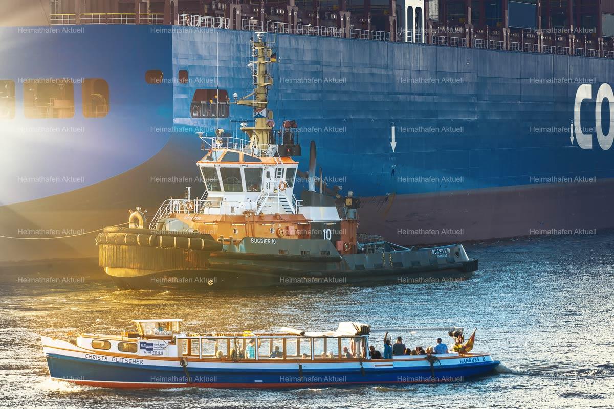 Hamburg Hafenfotos-SHL-00031-BUGSIER10-FAIRPLAY-TOWAGE-Barkasse-CHRISTA-GLITSCHER