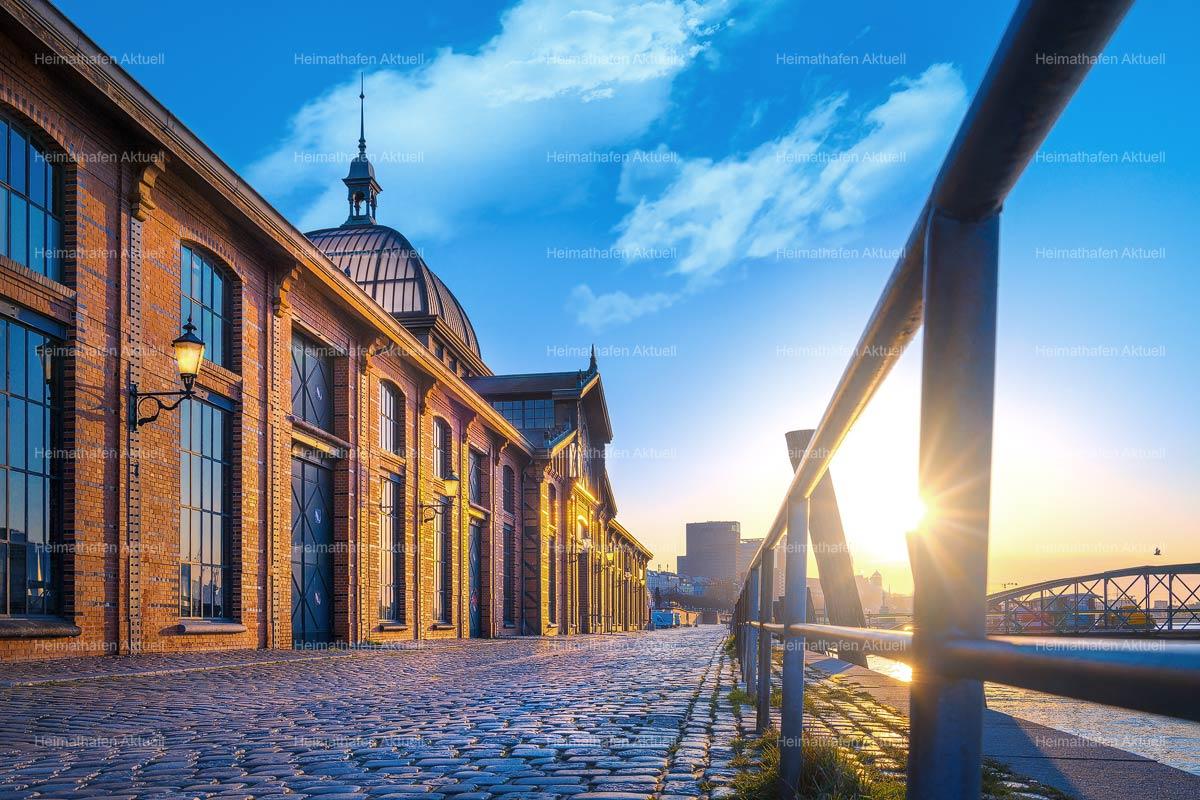 Hamburgbilder-GFO-00004-Fischauktionshalle Sonnenaufgang