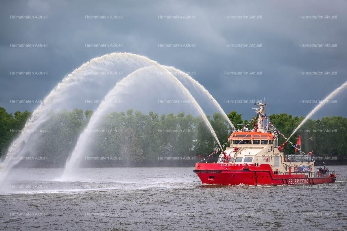Hamburg Foto-HAF-00021-BRANDDIREKTOR WESTPHAL beim Hafengeburtstag 2019
