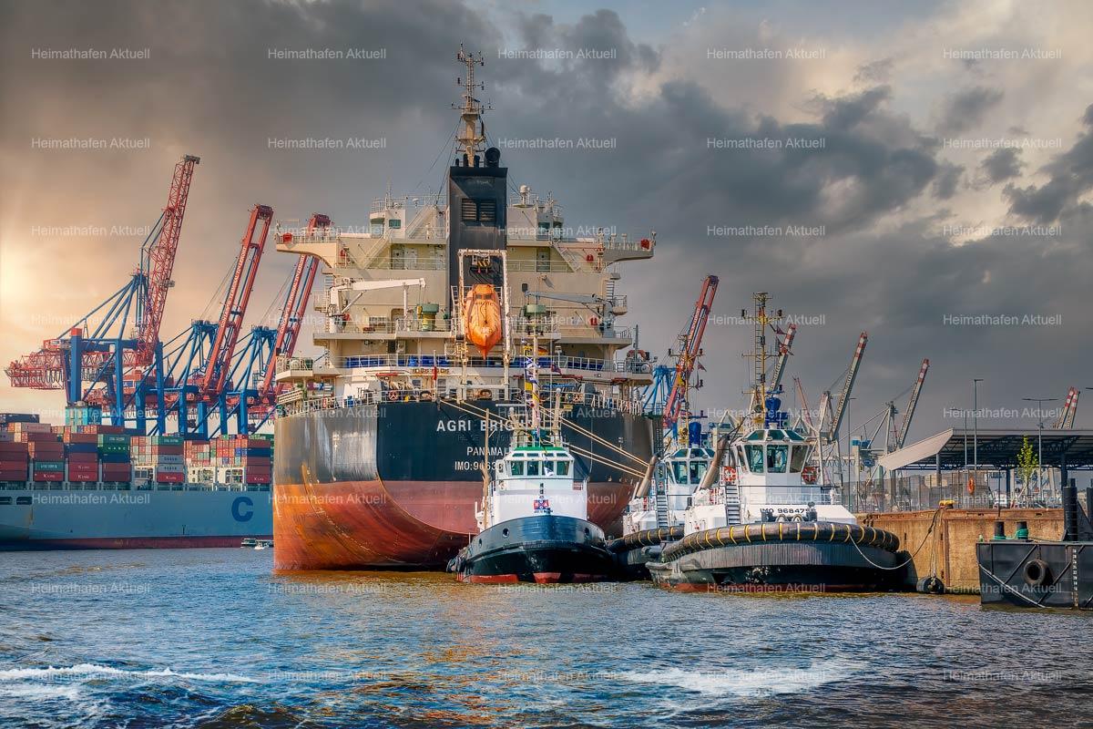 Hamburg-Foto HAF-00096-Hamburger Hafen