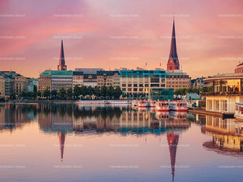 Hamburg-Fotos-ALS-00033-Binnenalster-Sonnenaufgang
