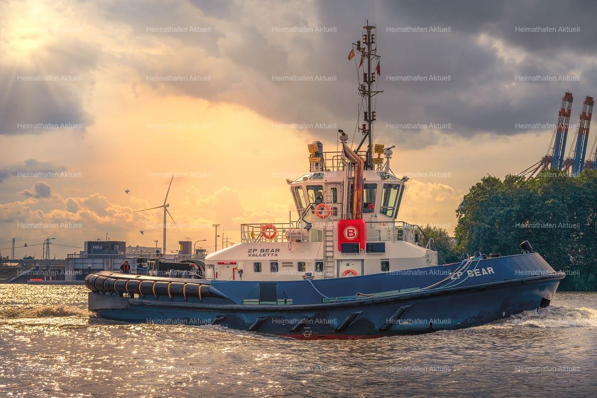 Hamburgbilder-GFO 00005 Hafenschlepper ZP BEAR