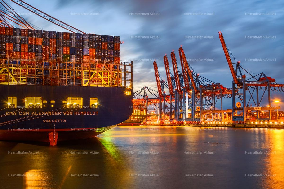 Hamburg Hafenfotos-Angebot-HAF-00001-Container-Terminal-Waltershof--CMA-CGM-ALEXANDER VON HUMBOLDT